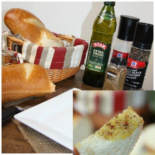 Olive Oil Dip Recipe appetizer idea #STAROliveOil #shop #cbias