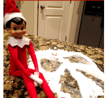 An Elf on the Shelf Tradition + a Free Ideas Printable