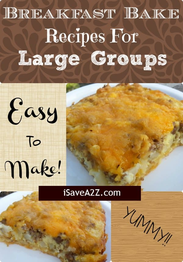 Breakfast bake recipes for large groups easy and deliscious breakfast bake recipes for large groups forumfinder Choice Image