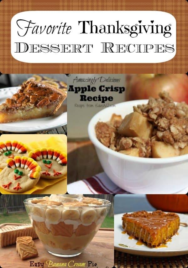 Favorite thanksgiving dessert recipes not just plain old for Non traditional thanksgiving dinner ideas