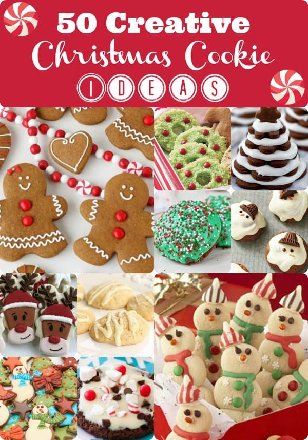 Creative Christmas Cookie Ideas - 50 Yummy Ideas!!