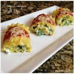 Easy Lasagne Roll Ups Recipe #JoytotheTable #pmedia #ad