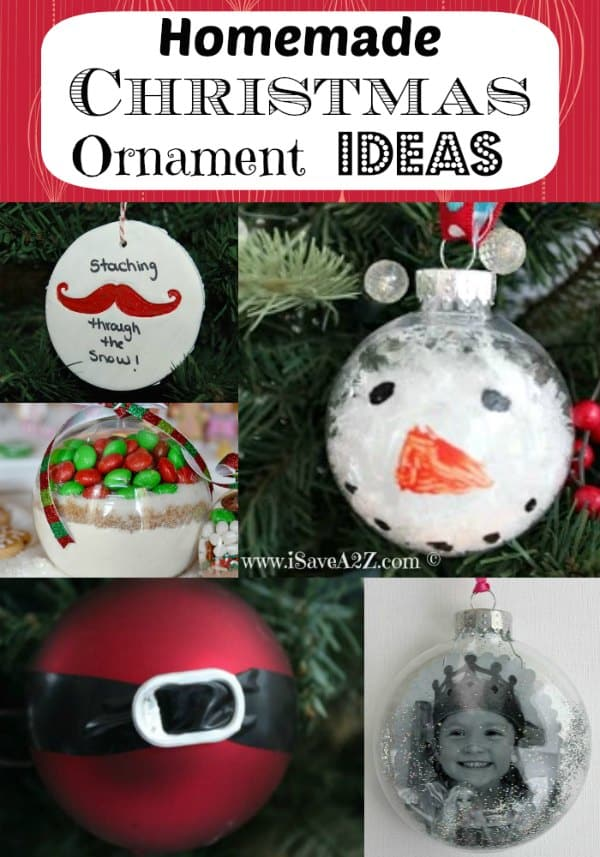 homemade christmas ornament ideas love these simple ideas