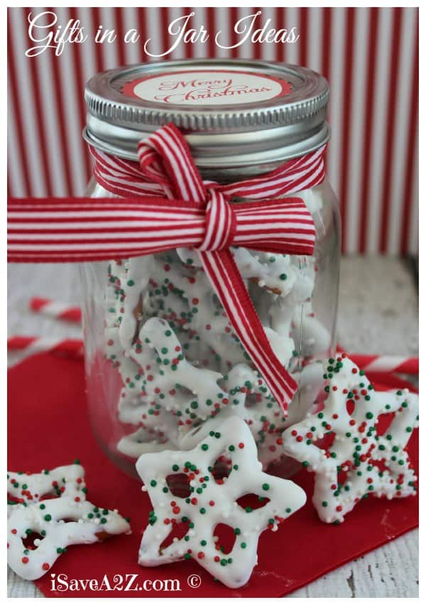 Homemade Gifts In a Jar Ideas for Christmas - iSaveA2Z.com