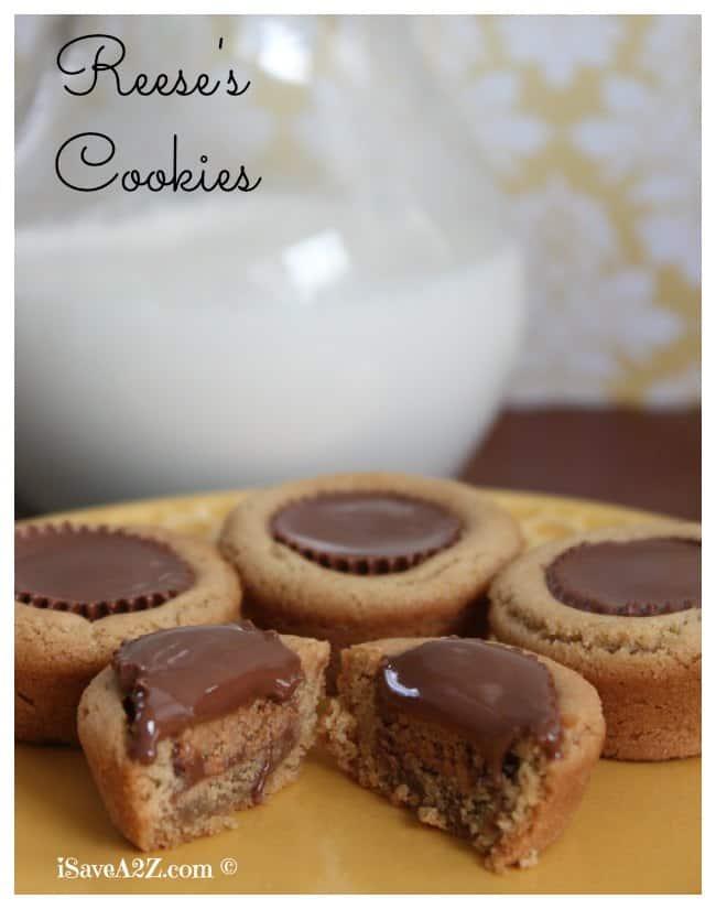 Homemade Reese's Cookies - iSaveA2Z.com