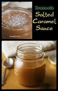 Homemade Salted Caramel Sauce Recipe