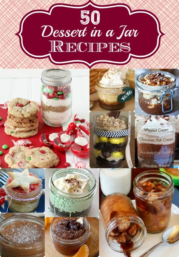 Cake Baked In A Jar