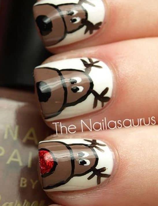 christmas nail art ideas - Little Girl Nail Design Ideas