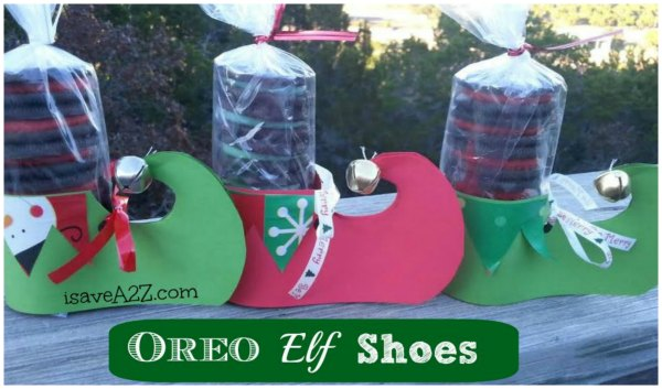Oreo Elf Shoes - Super Cute Classmate Gift Idea!
