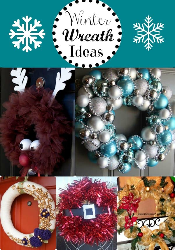 Winter Wreath Ideas Easy And Inexpensive Wreath Ideas