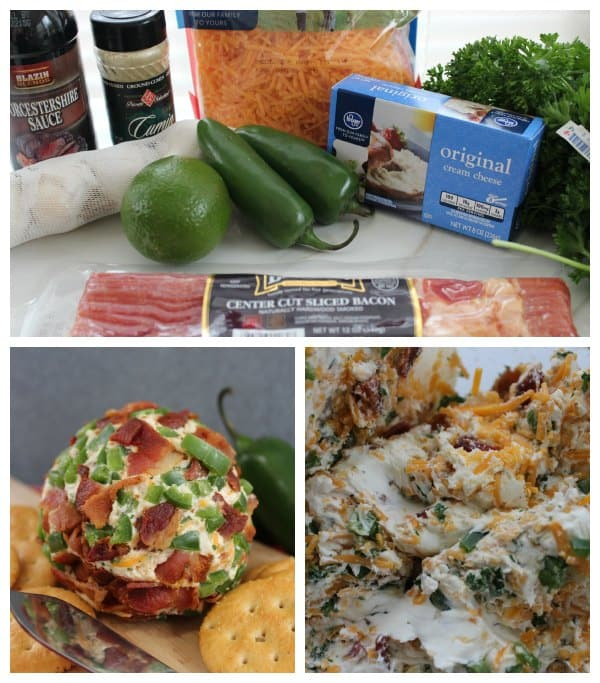 Bacon Cheddar Cheeseball Recipe Ingredients Needed