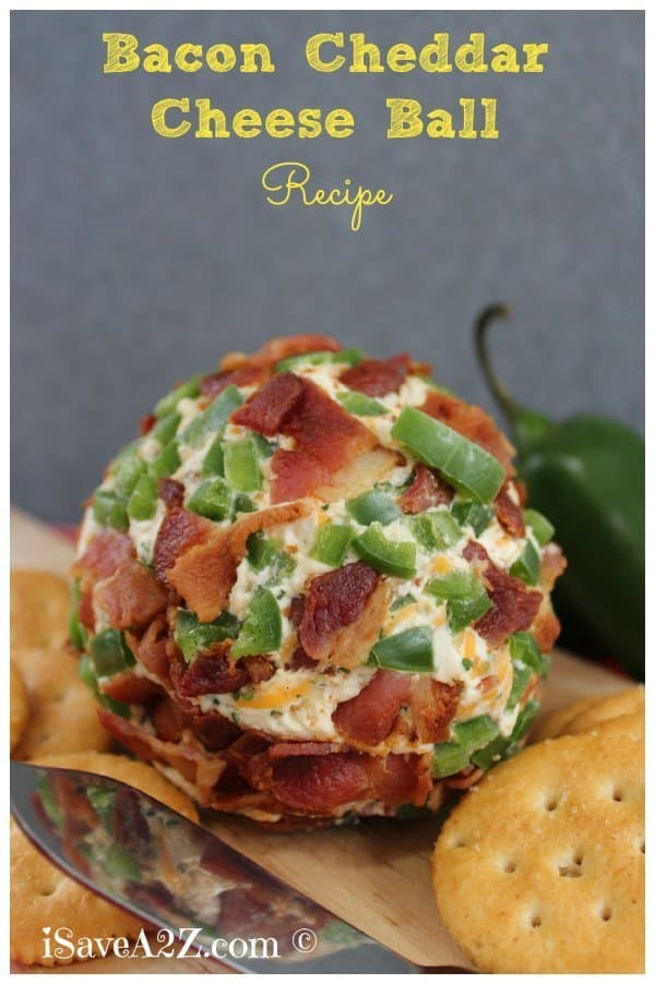 Bacon Cheddar Cheeseball Recipe