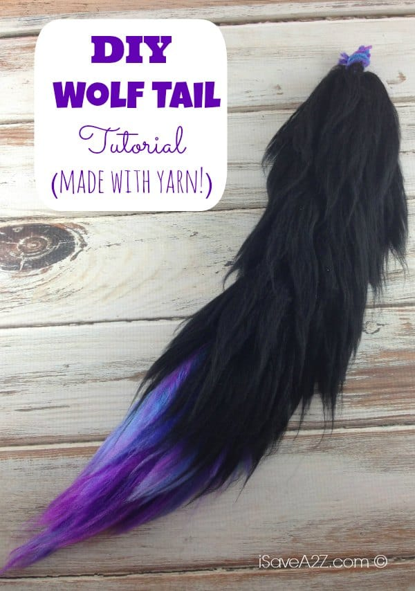 Costume wolf tail tutorial isavea2z costume wolf tail tutorial instructions included solutioingenieria Choice Image