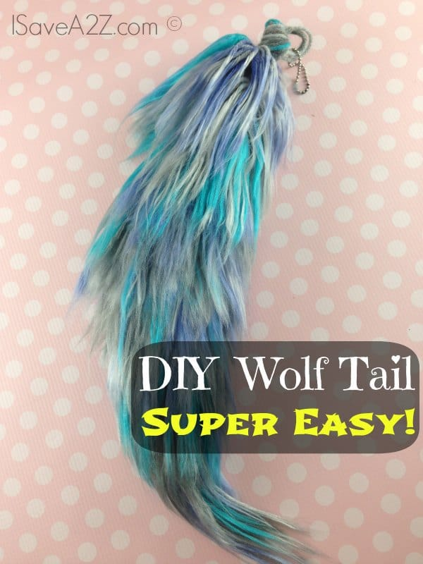 Costume Wolf Tail