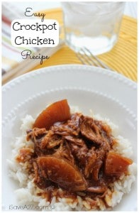 Crockpot BBQ Chicken Recipes ingredients
