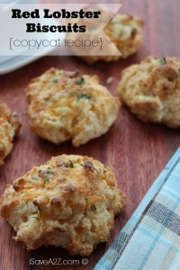 Red lobster Biscuits Copycat Recipe