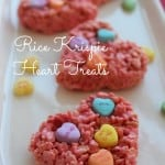 Easy Rice Krispie Hearts Recipe