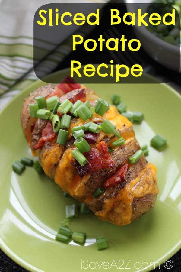 Easy Sliced Baked Potato Recipe Isavea2z Com
