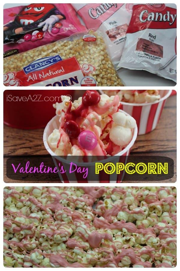 Valentine's Day Popcorn Recipe