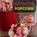 Easy Valentine's Day Popcorn Recipe