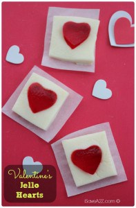 Valentine's Jello Hearts