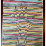 Kids 3D Art Project Idea Using Crayons!