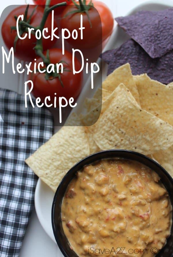 Crockpot Mexican Dip Recipe
