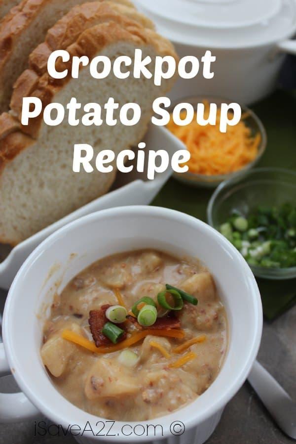 Crockpot Potato Soup Recipe