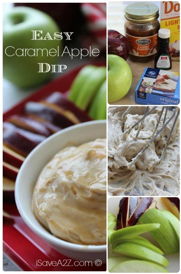 Easy Caramel Apple Dip Recipe Ingredients