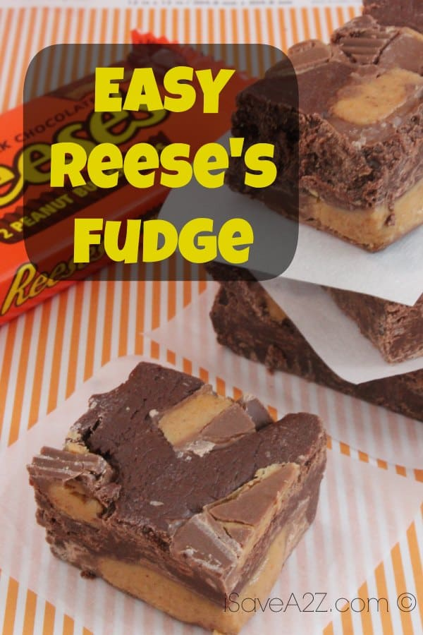 Easy Reese's Fudge