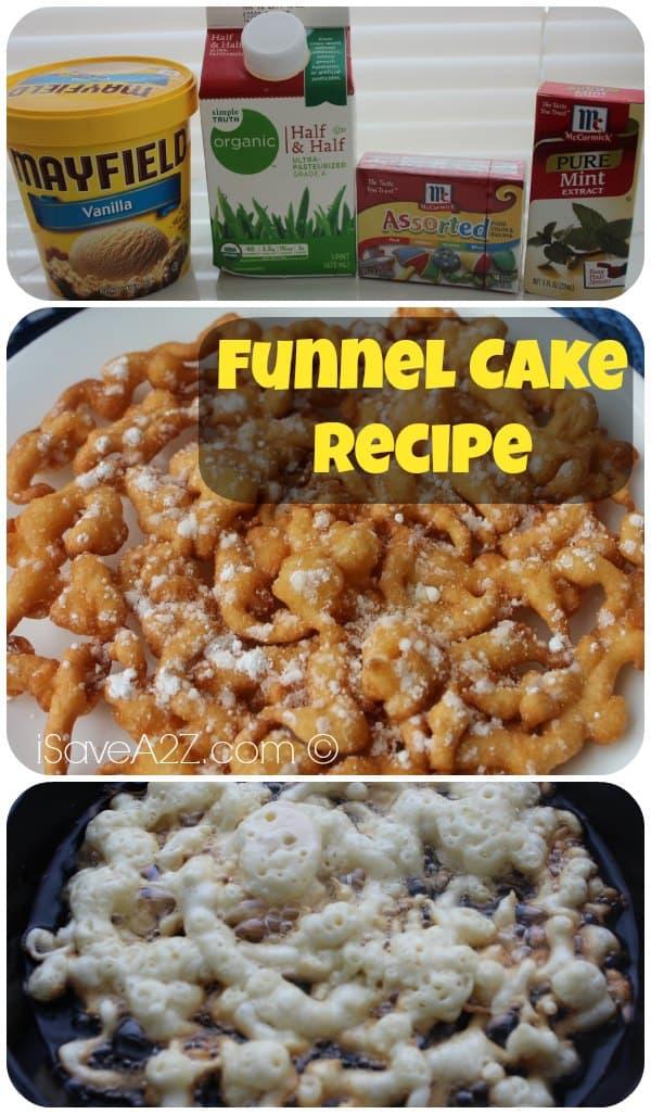 How To Make Homemade Funnel Cake Batter
