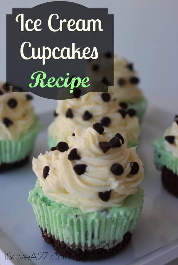 Ice Cream Cupcakes Recipe