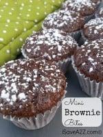 Weight Watchers Dessert:  Mini Brownie Bites Recipe (2 Points)
