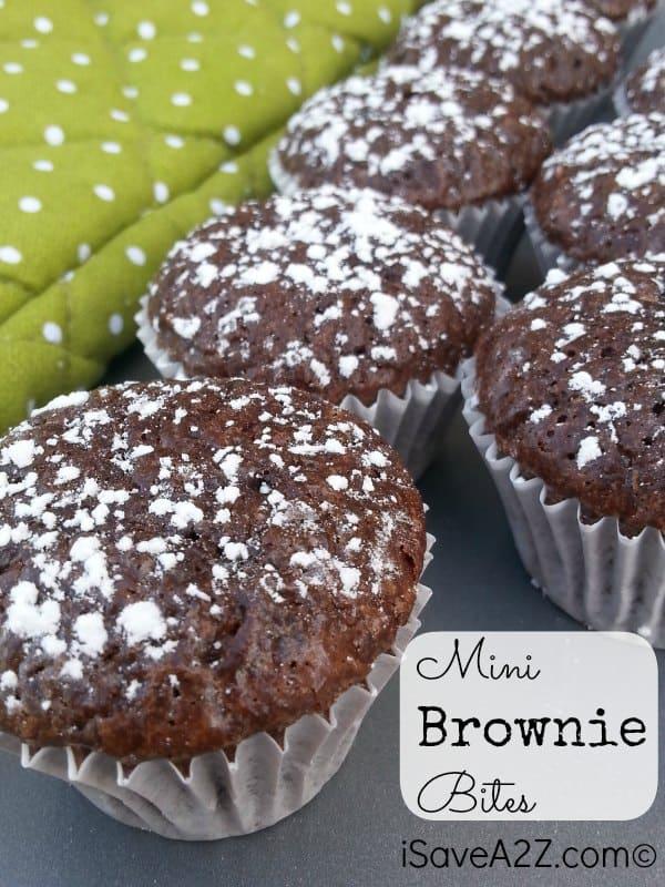 Weight Watchers Dessert Mini Brownie Bites Recipe Only 2 Pts