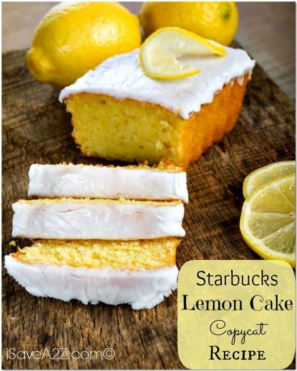 Starbucks Lemon Coffee Cake Recipe