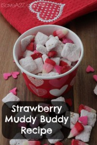 Strawberry Muddy Buddy