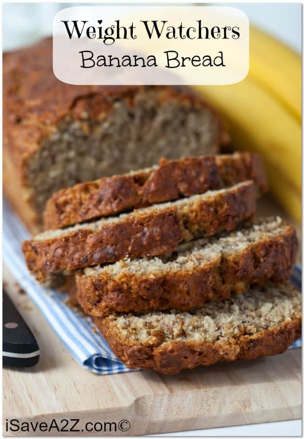 Weight Watchers Banana Bread Recipe 4 Points Per Serving