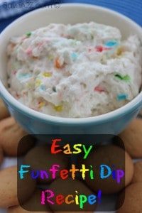 Easy Funfetti Dip Recipe