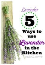 5 Ways to Use Lavender in the Kitchen