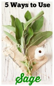 5 Ways to Use Sage