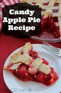 Candy Apple Pie Recipe