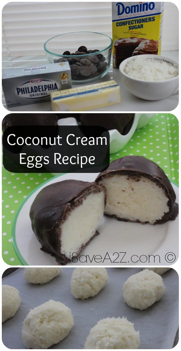 Coconut Cream Eggs Recipe