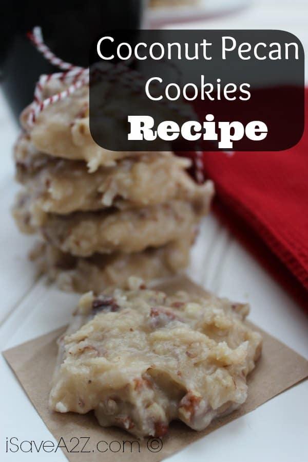 Coconut Pecan Cookies Recipe Isavea2z Com