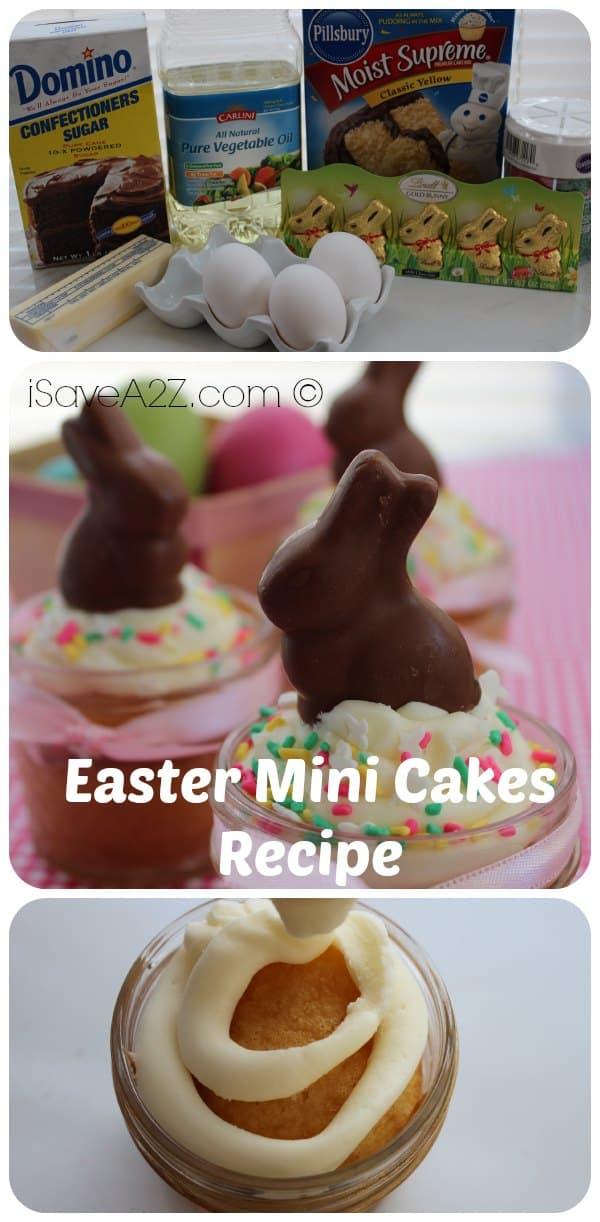 Easter Mini Cakes Recipe