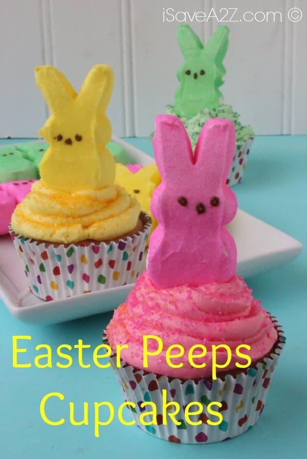 Easter Peeps Cupcakes Isavea2z Com