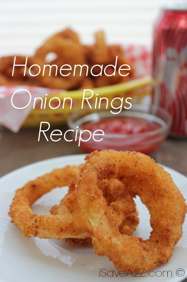 Homemade Onion Rings Recipe Isavea2z Com