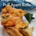 Jalapeno Cheddar Pull Apart Rolls
