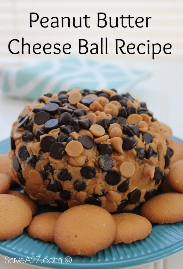 Peanut Butter Cheese Ball Recipe Isavea2z Com