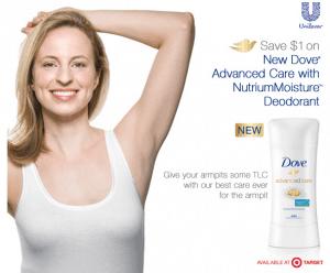 High Value Dove® Deodorant Coupon