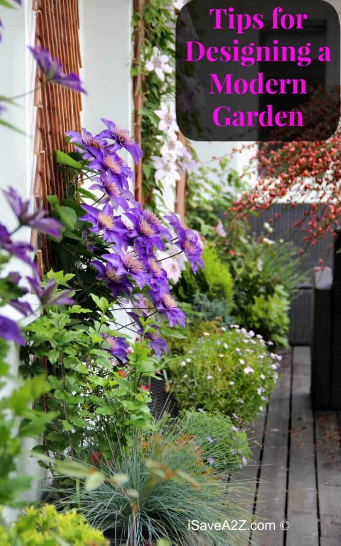 Tips for Designing a Modern Garden